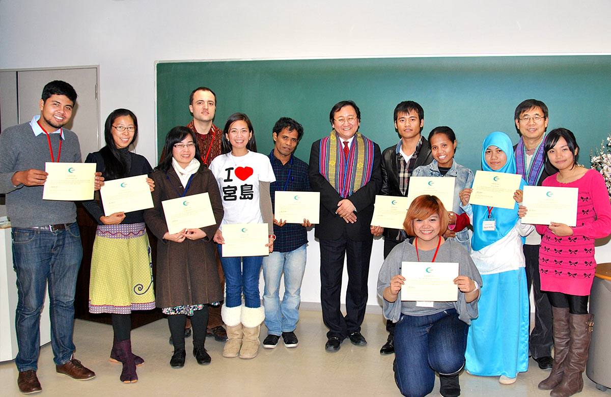 essays · peace and human security in asia peace and human security in asia 2011 2015 student exchange program